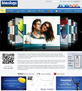 Himalaya Opticals - E Commerce Web Design