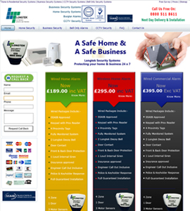 Longtek Eu - Security Systems Website Design