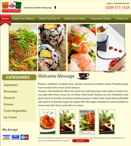 Apni Rasoi Continental Takeaway Website Development
