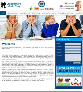 Academics Made Easy College University Website Design